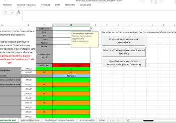Data-base per la gestione delle osservazioni (Behavior Based Safety Software in versione gratuita)
